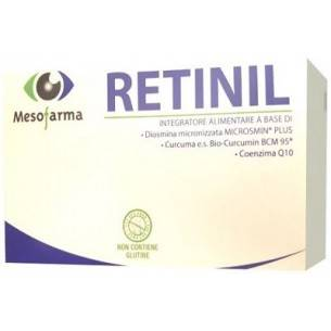 Mesofarma Retinil 30 Compresse - Integratore per la funzione visiva
