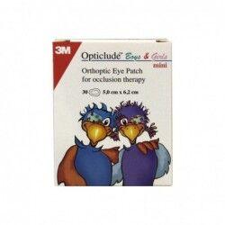3M Opticlude cerotto oculare colorato mini 5x6,2 cm 30 pezzi