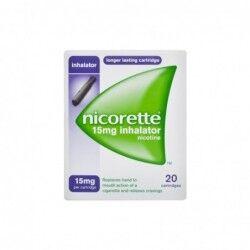 Johnson & Johnson Nicorette 15 mg Inhalator 20 filtri - Utili per smettere di fumare