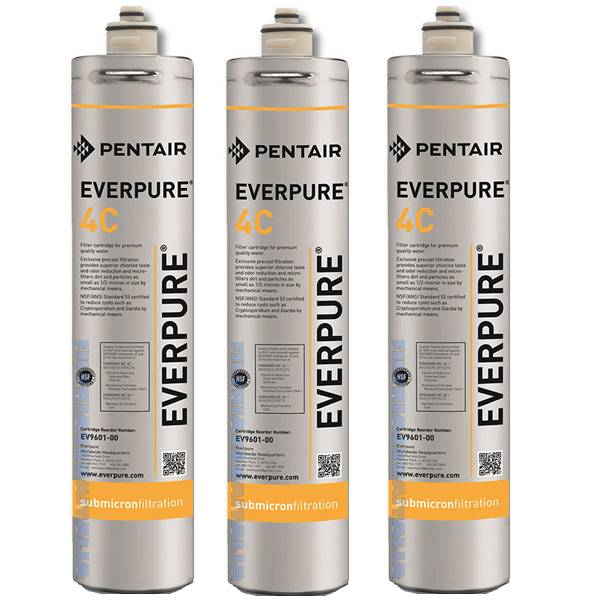 Everpure 4c Filtri Everpure 4c Ev9601-00 Set 3 Pezzi Prezzo Iva Inclusa