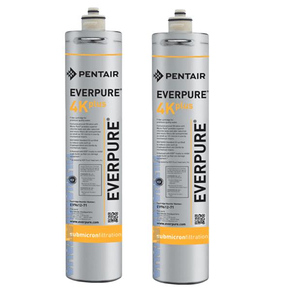 Everpure 4k Plus Ev961276 Everpure 4k Plus Set 2 Pezzi Ev9612-76  Zero Spese Di Spedizione La Spedizione La Offriamo Noi. Prezzo Iva Inclusa