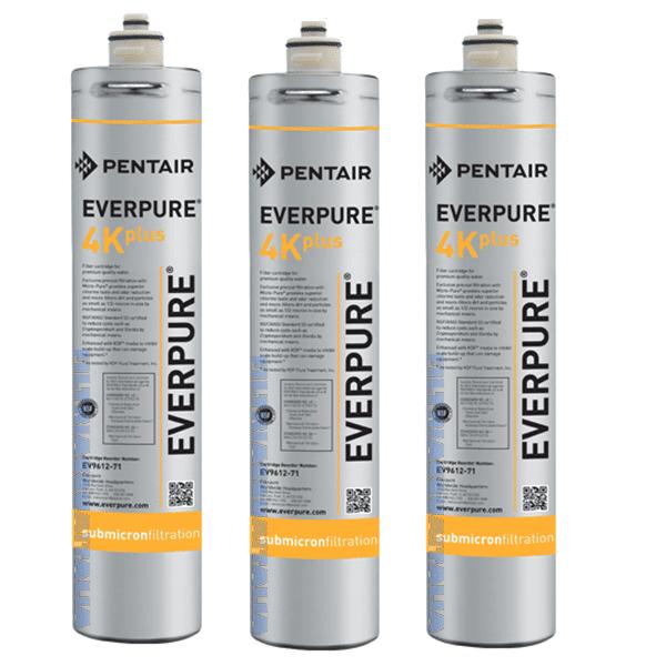 Everpure 4k Plus Ev961276 Everpure 4k Plus Set 3 Pezzi Ev9612-76 Zero Spese Di Spedizione La Spedizione La Offriamo Noi. Prezzo Iva Inclusa