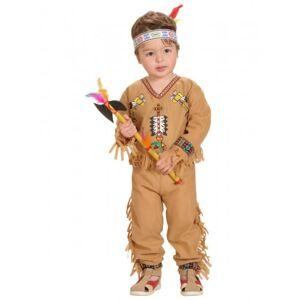 23d4d2d72b Costumi carnevale neonato WIDMANN Costume da indiano neonato 1 - 2 anni (90  cm)