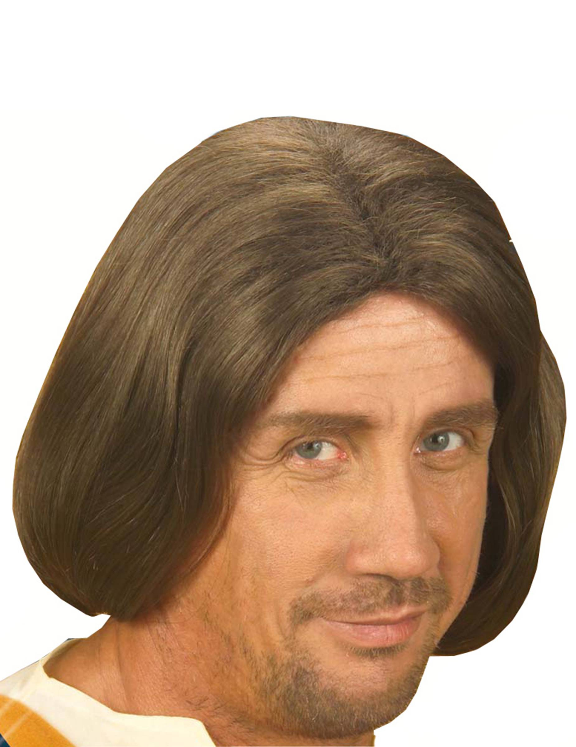 Vegaoo Parrucca marrone uomo