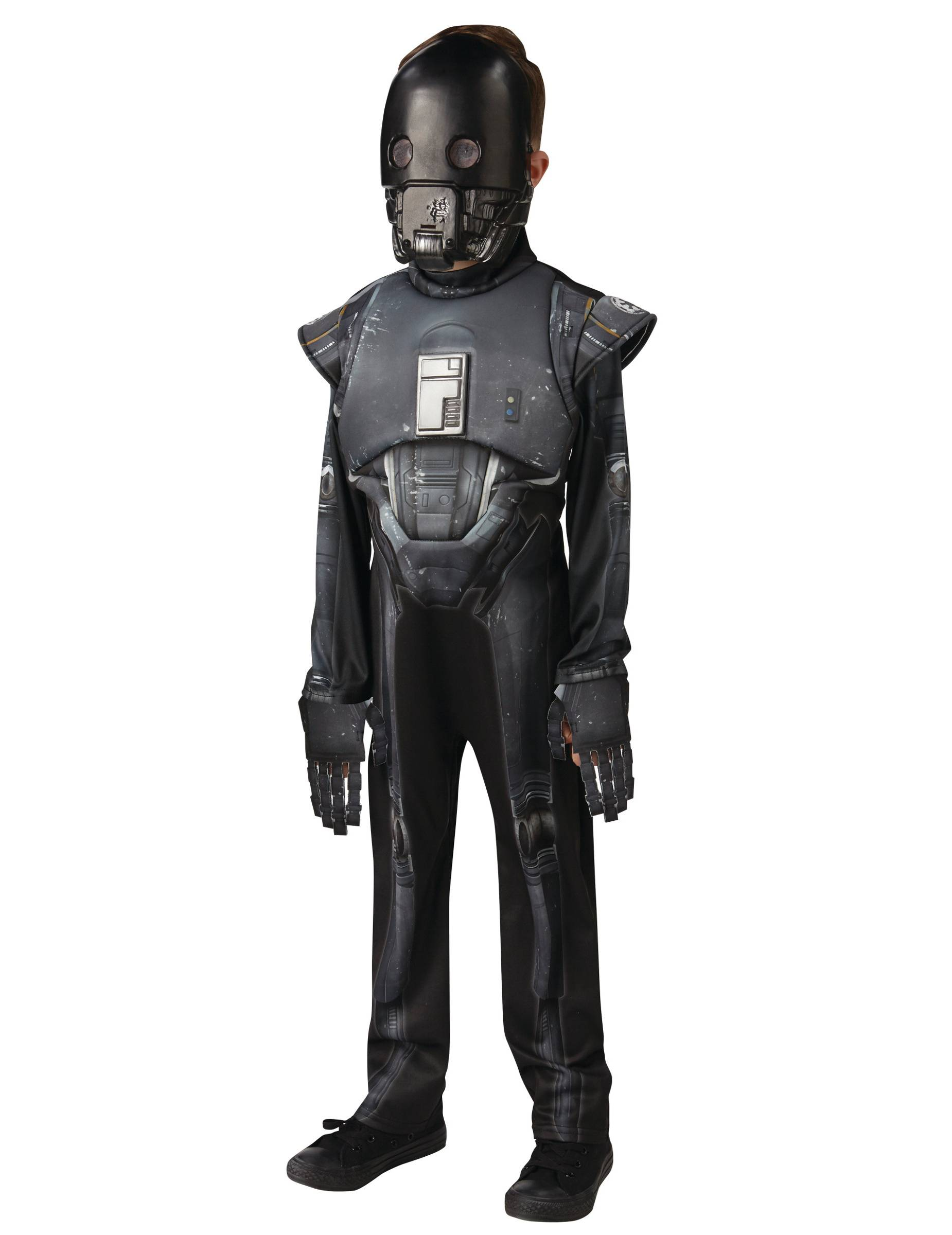 Vegaoo Costume Lusso K-2SO Bambino Star Wars Rogue One - 7/8 anni (122/128)