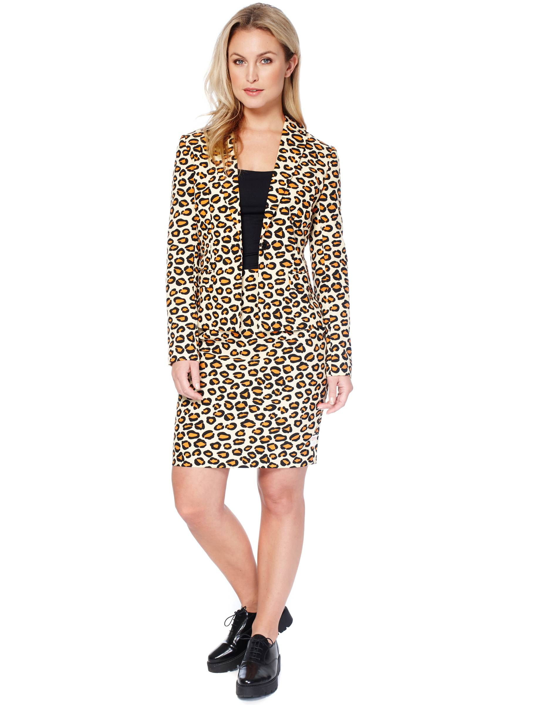 Vegaoo Costume Miss Giaguaro per donna Opposuits - S / M (38)