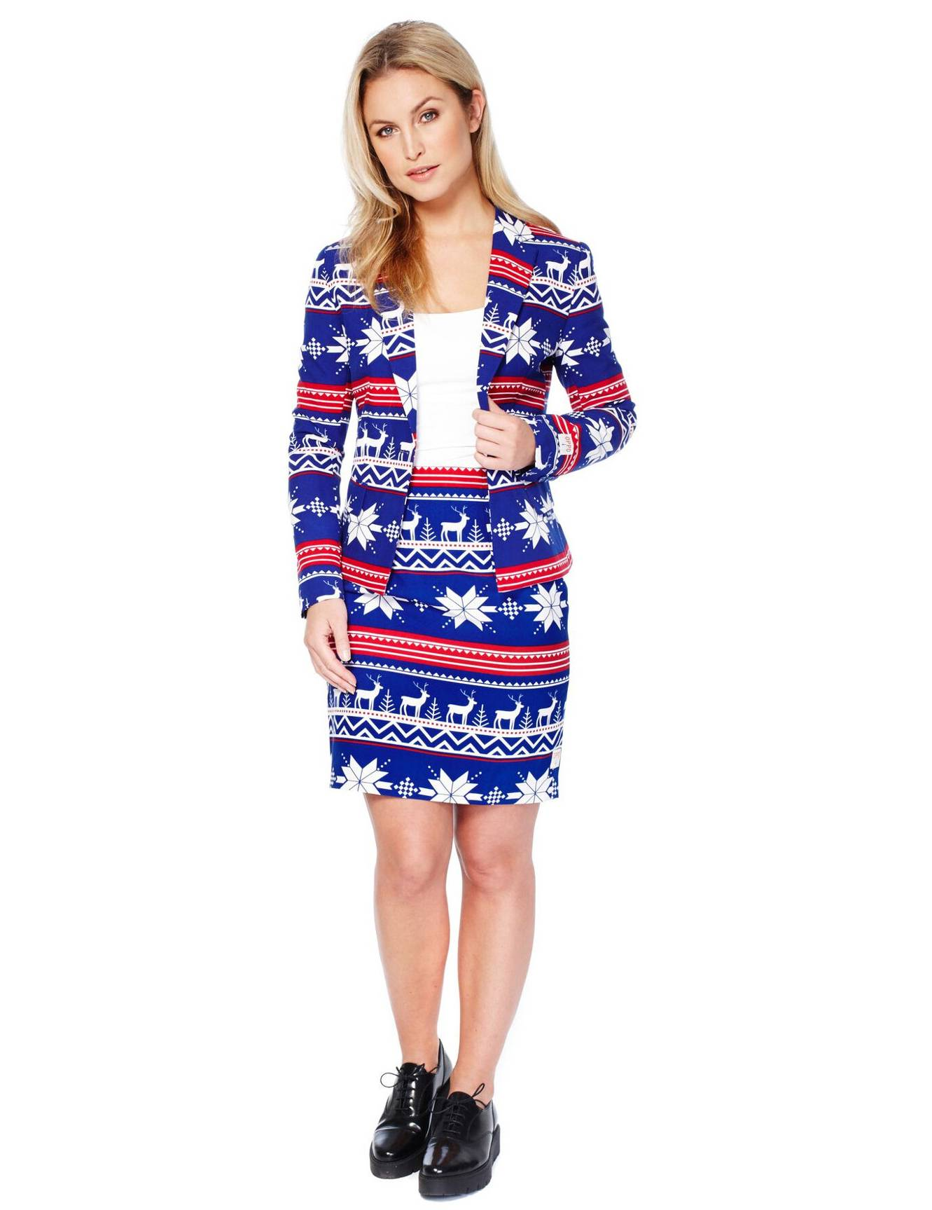 Vegaoo Costume Miss Snow donna Opposuits - XS (34)