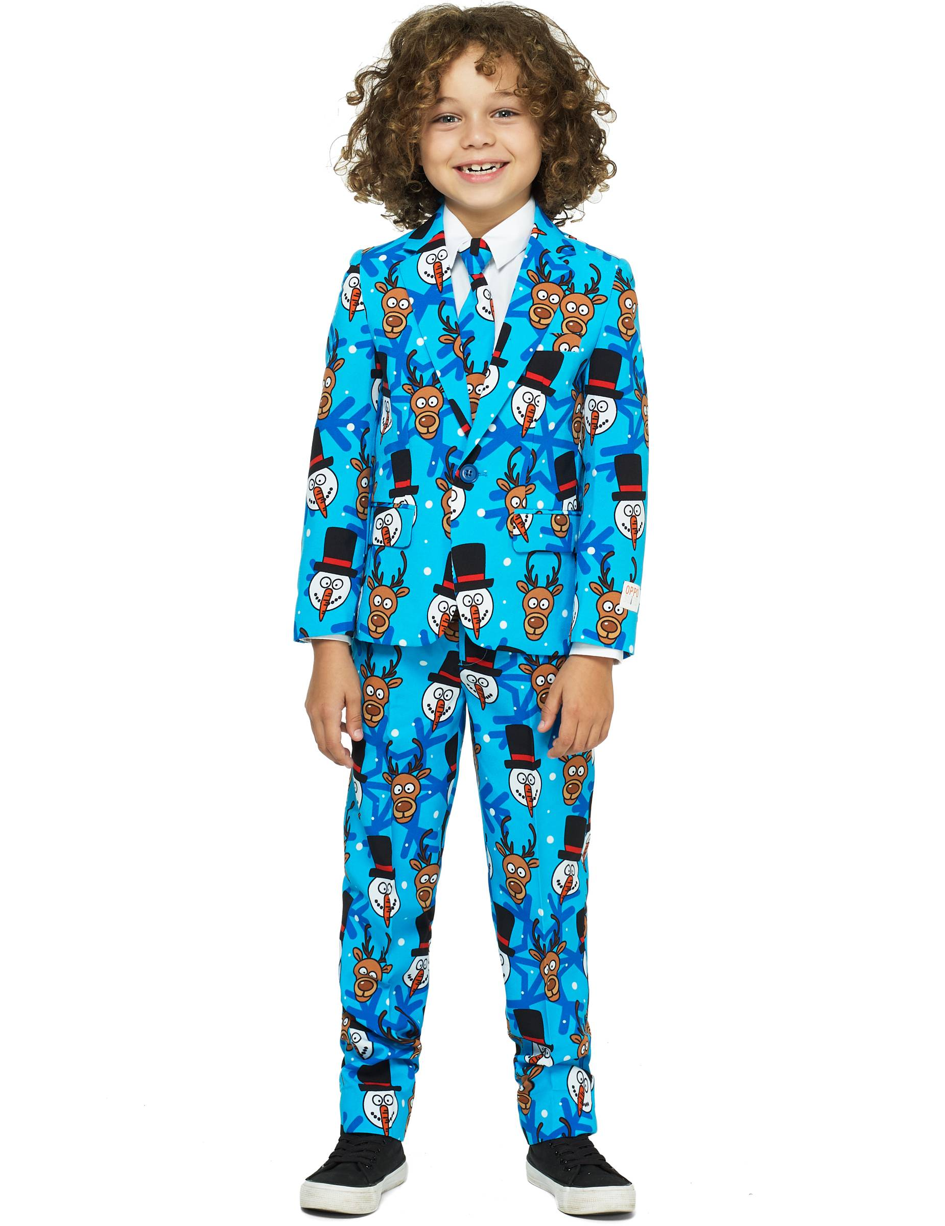 Vegaoo Costume Mr Winter winner bambino Opposuits - 6 - 8 anni ( 110 - 116 cm)