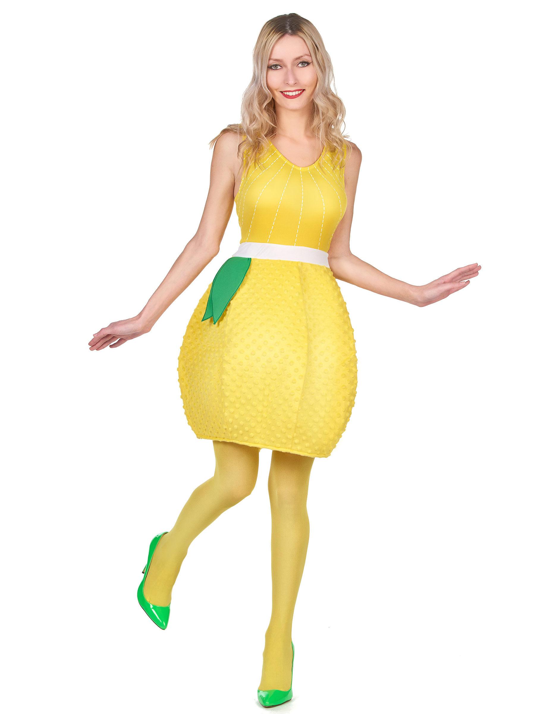 Vegaoo Costume da limone per donna