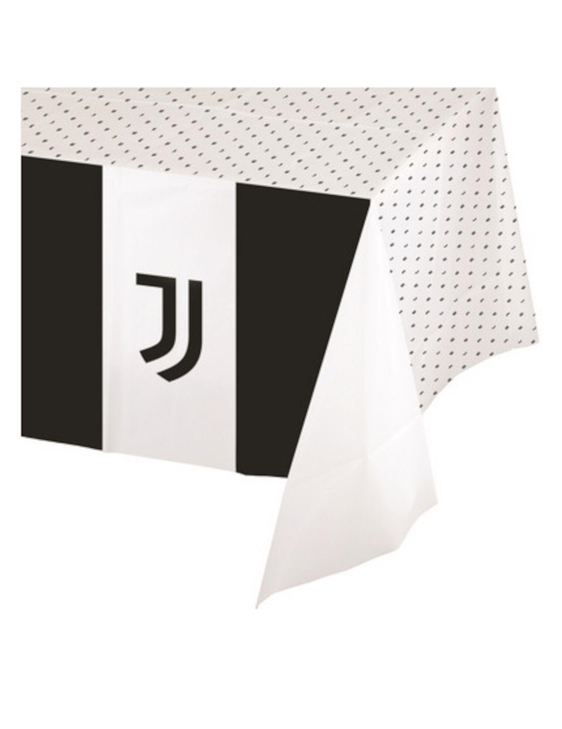 Vegaoo Tovaglia in plastica Juventus 120 x 180 cm