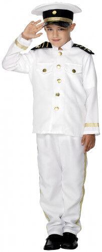 SMIFFYS Costume comandante dell'aviazione bambino 7 - 9 anni (130/143 cm)
