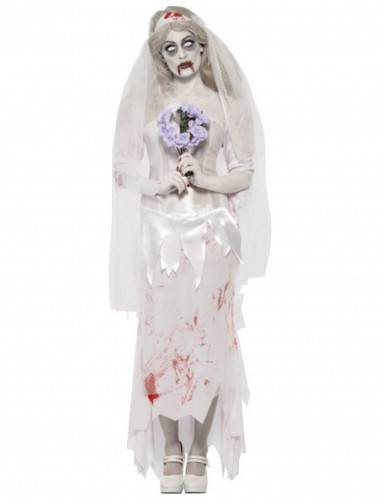 SMIFFYS Costume zombie sposa donna Halloween L