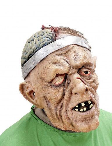WIDMANN Maschera Halloween: paziente operato al cervello adulto Taglia Unica