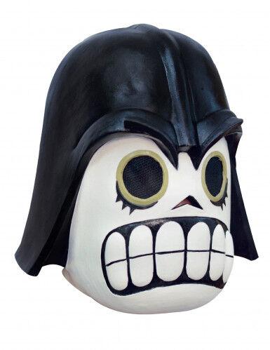 GHOULISH Maschera da Comandante Oscuro adulto Dia de los muertos Taglia Unica