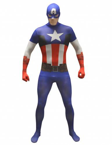 MORPHSUITS Costume Morphsuits Capitan America adulto L (180 cm max)