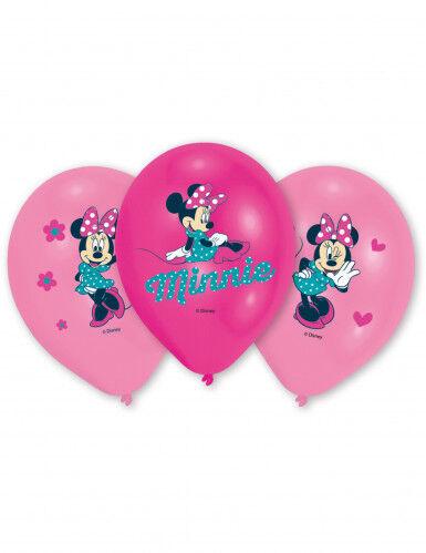 AMSCAN 6 palloncini Minnie Taglia unica