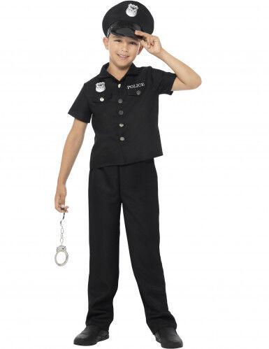 SMIFFYS Vestito da poliziotto New York per bambino 7 - 9 anni (130/143 cm)