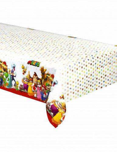 AMSCAN Tovaglia in plastica Super Mario 120 x 180 cm Taglia unica
