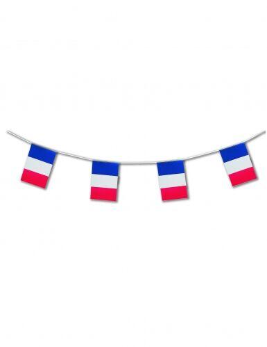 CHRISTIANFABRICATIONS Ghirlanda con bandiere della Francia Taglia Unica