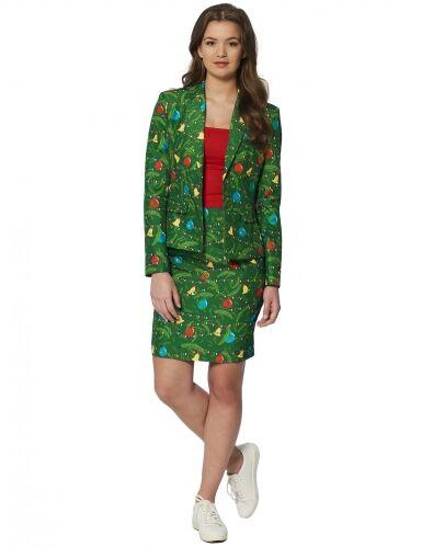OPPOSUITS Costume Mrs Albero di Natale verde donna Suitmeister S