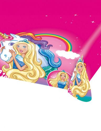 AMSCAN Tovaglia in plastica Barbie 120 x 180 cm Taglia unica