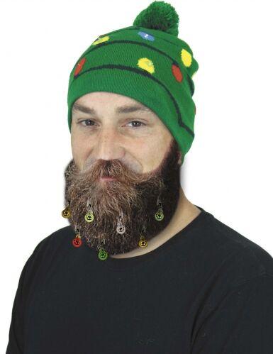 PARTYPRO 9 Mollette per barba o capelli palline di natale Taglia unica