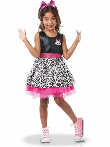 RUBIES FRANCE Costume Diva LOL Surprise lusso per bambina 7/8 anni (117/128 cm)