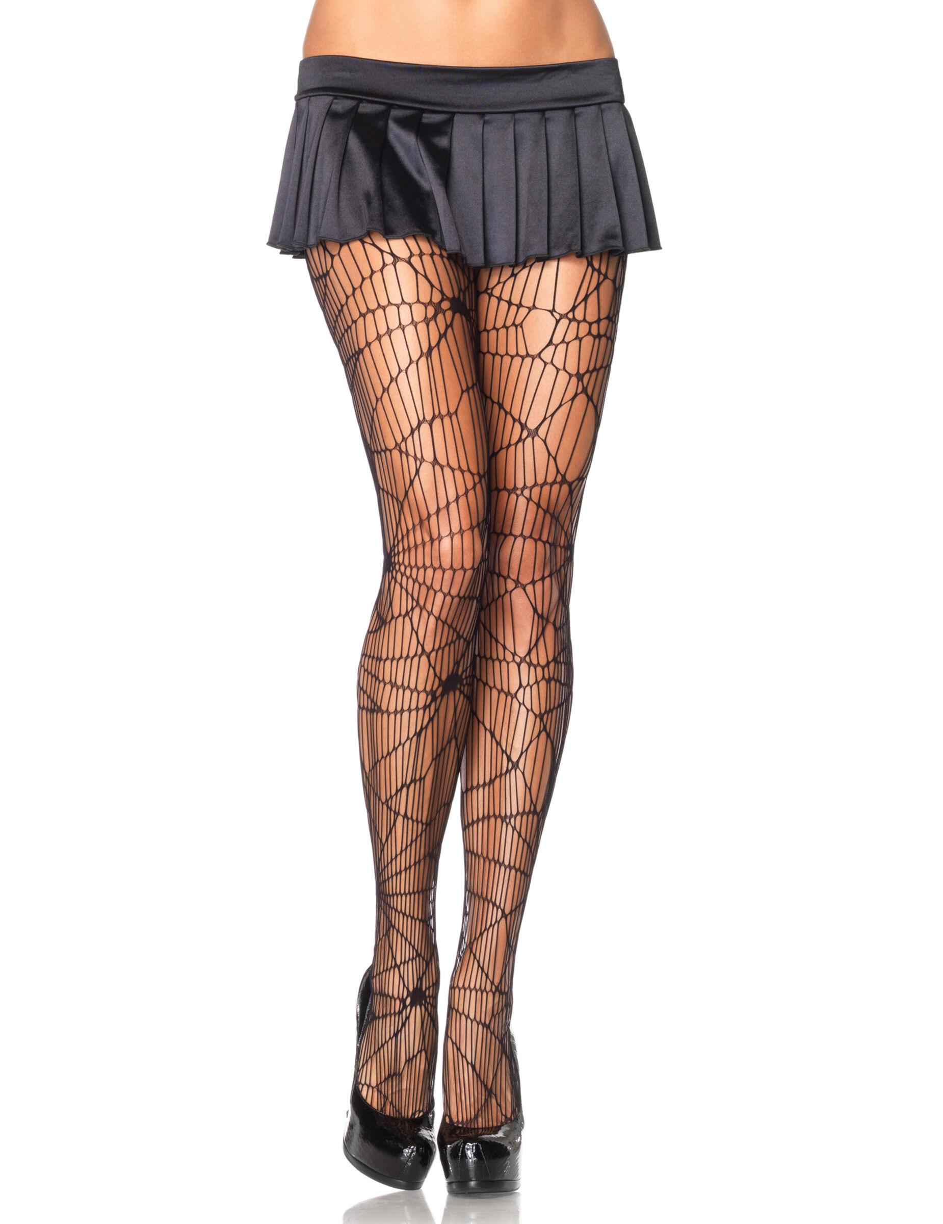 Vegaoo Collants ragnatela Halloween - Premium - M/L