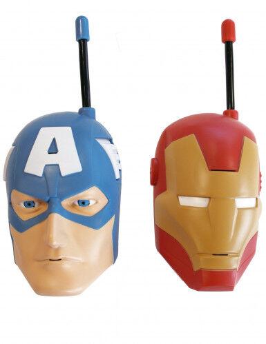 IMC TOYS France 2 Walkie Talkie Avengers Taglia Unica