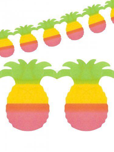 AMSCAN Ghirlanda hawaiana con anans 4 Metri Taglia unica