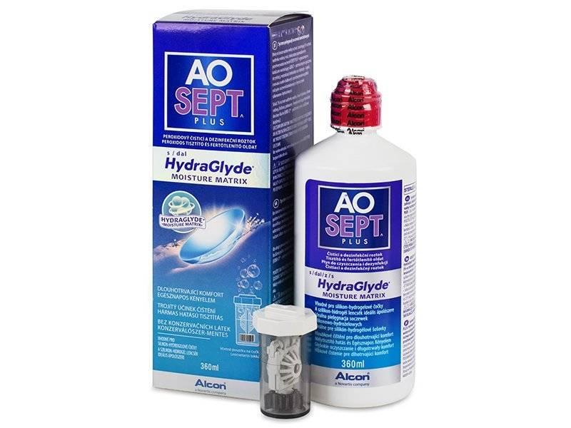 Roztok AO SEPT PLUS HydraGlyde 360 ml