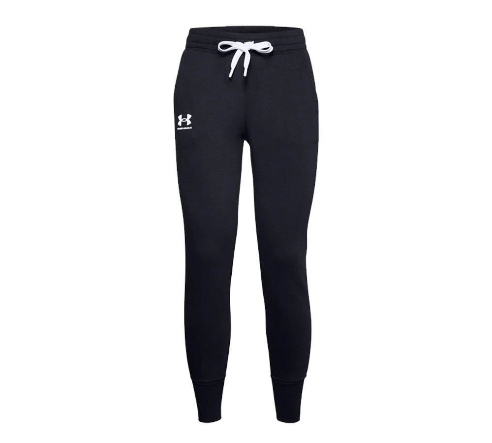 Under Armour Pantaloni Donna Joggers Rival Fleece, Taglia: XS, Per adulto Donna, Nero, 77-1356416 0001