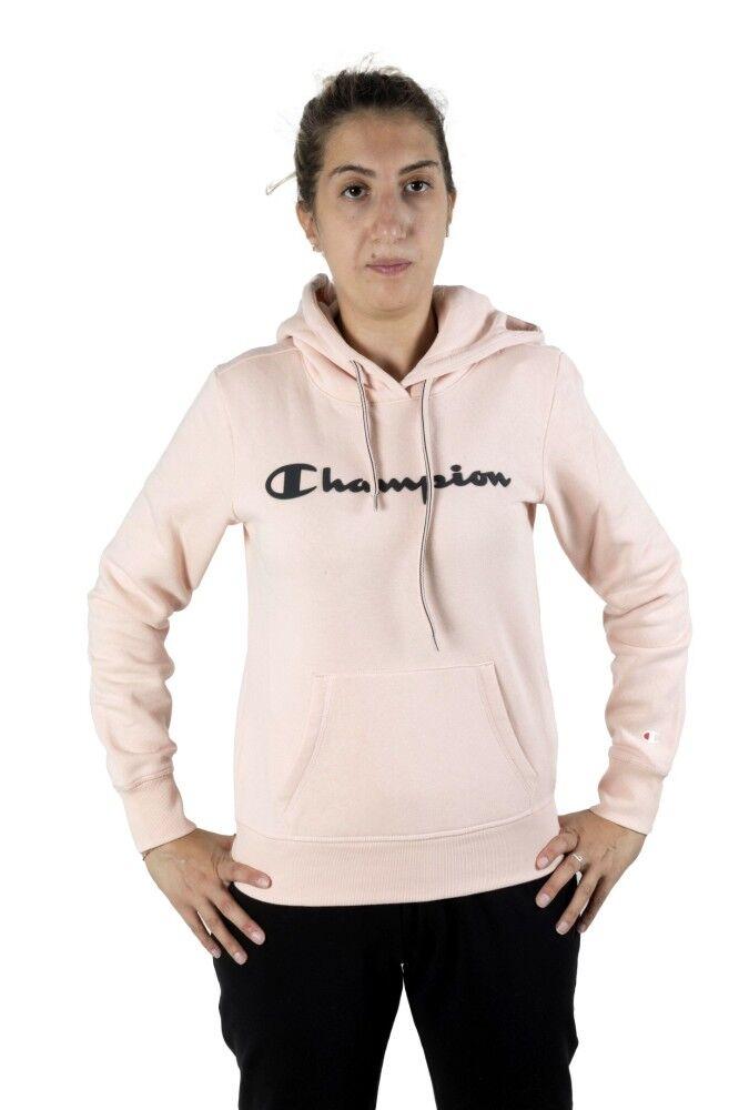 Champion Felpa Donna American Classic, Taglia: L, Per adulto Donna, Rosa, 113207-PS157