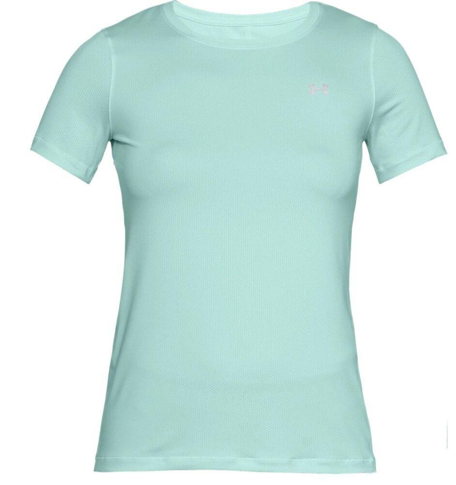 Under Armour T-Shirt Donna HeatGear® Armour, Taglia: S, Per adulto Donna, Verde, 1285637-703, IN SALDO!