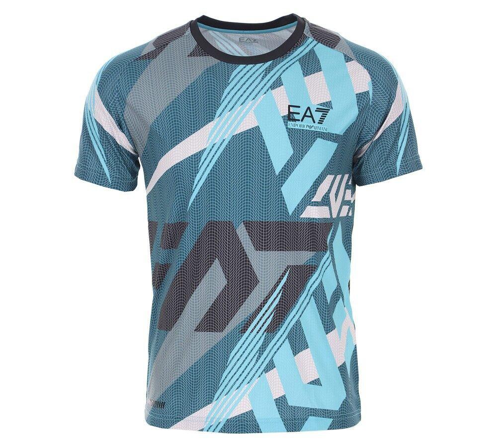 Ea7 T-shirt Uomo Ventus 7, Taglia: XL, Per adulto Uomo, Fantasia, PJ9EZ-3KPT47 2512, IN SALDO!