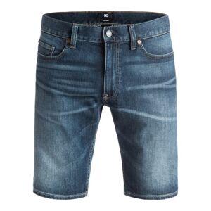 DCShoe Bermuda Uomo Jeans Washed Straight, Taglia: 36, Per adulto Uomo, Blu, EDYDS03008-BNTW