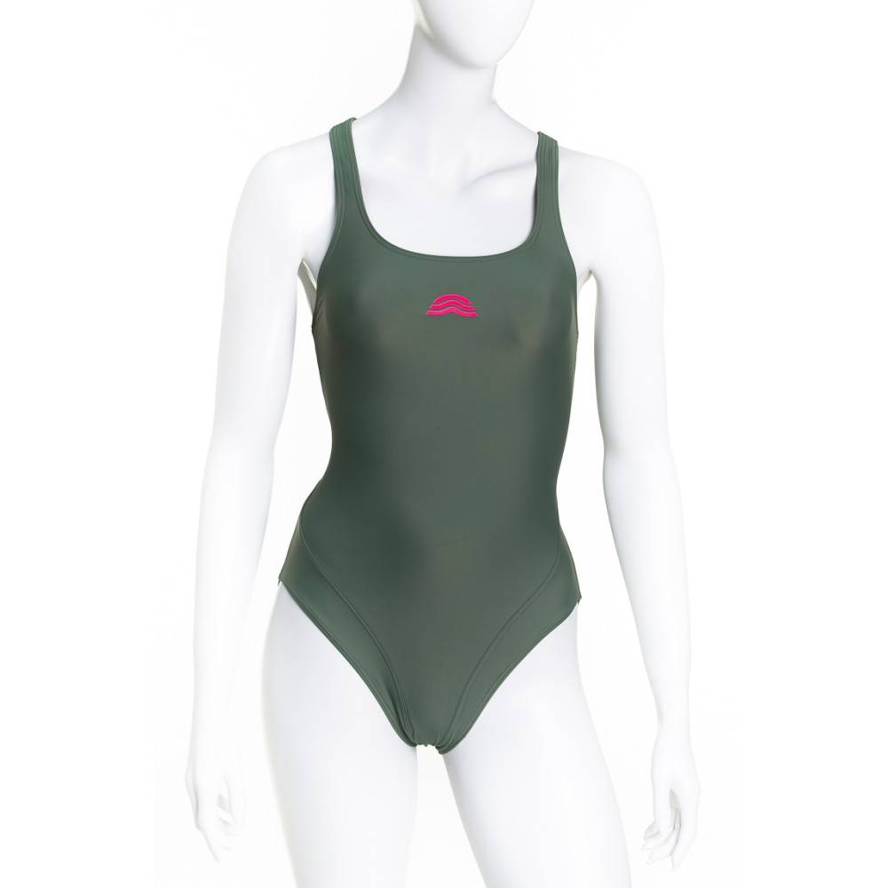 Aquarapid Costume Donna Intero Amachi, Taglia: 42, Per adulto Donna, Verde, AMACHI-AM, IN SALDO!