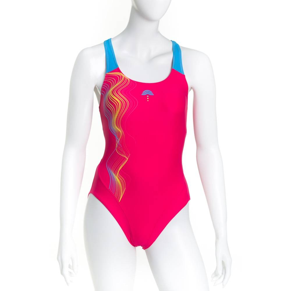 Aquarapid Costume Donna Intero Alixy, Taglia: 42, Per adulto Donna, Rosa, ALIXY-FZ, IN SALDO!