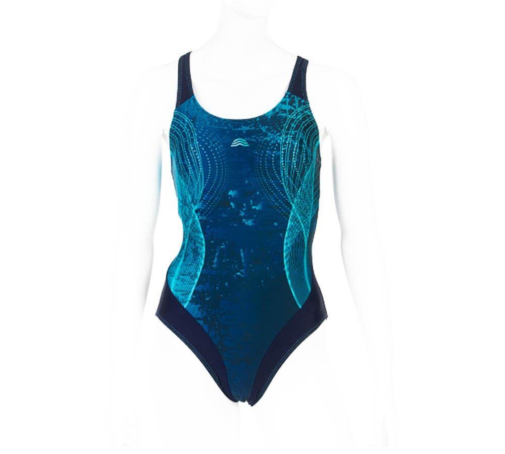 Aquarapid Costume Intero Nuoto Donna Admiral, Taglia: 46, Per adulto Donna, Fantasia, ADMIRAL B, IN SALDO!