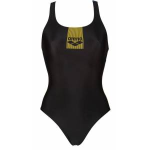 Arena Costume Intero Donna Basics Swim Pro, Taglia: 44, Per adulto Donna, Nero, 002266-505