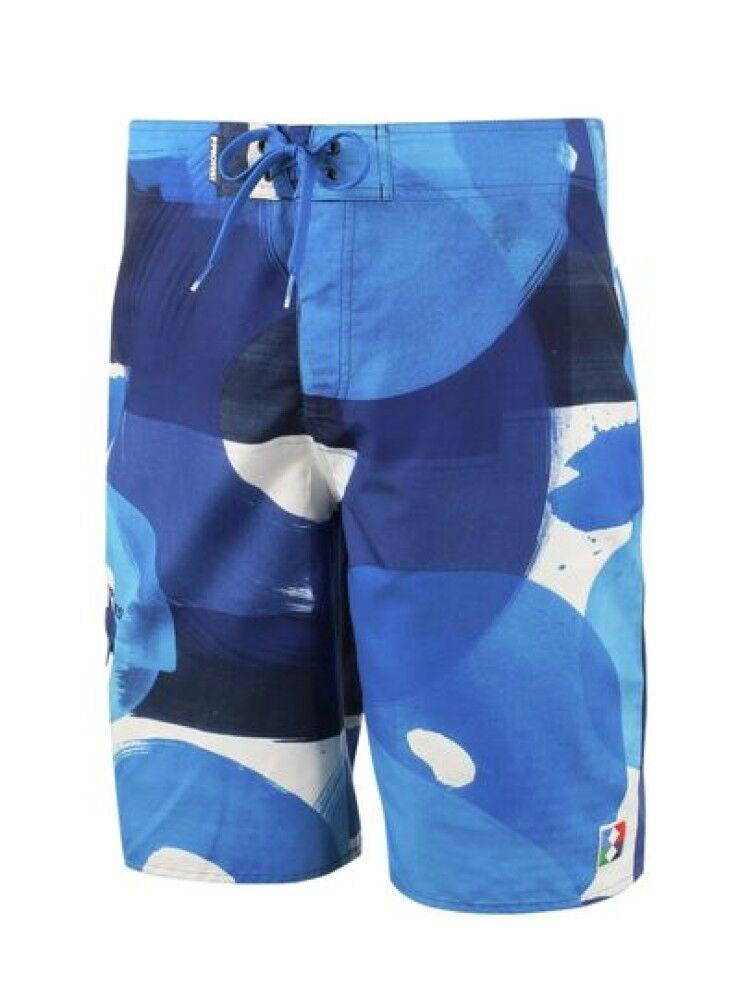Protest Costume uomo Boardshort Cocoa, Taglia: 34, Per adulto Uomo, Blu, 2710441-744