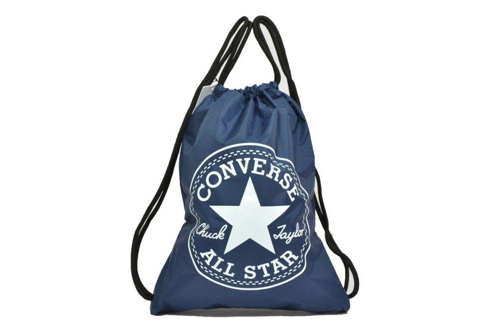 Converse Zaino Core Big Logo, Taglia: Unica, Unisex, Blu, 10005428-A07