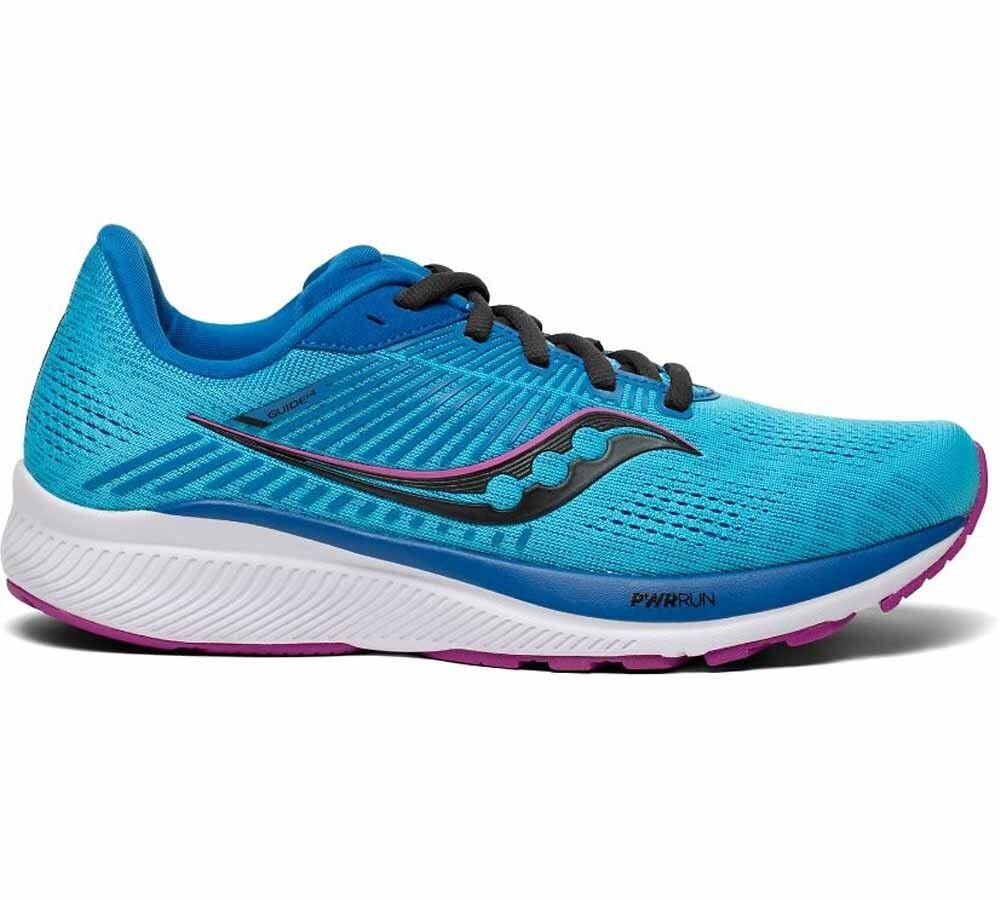 Saucony Scarpe Running Donna Guide 14, Taglia: 38, Per adulto Donna, Azzurro, S10654-30