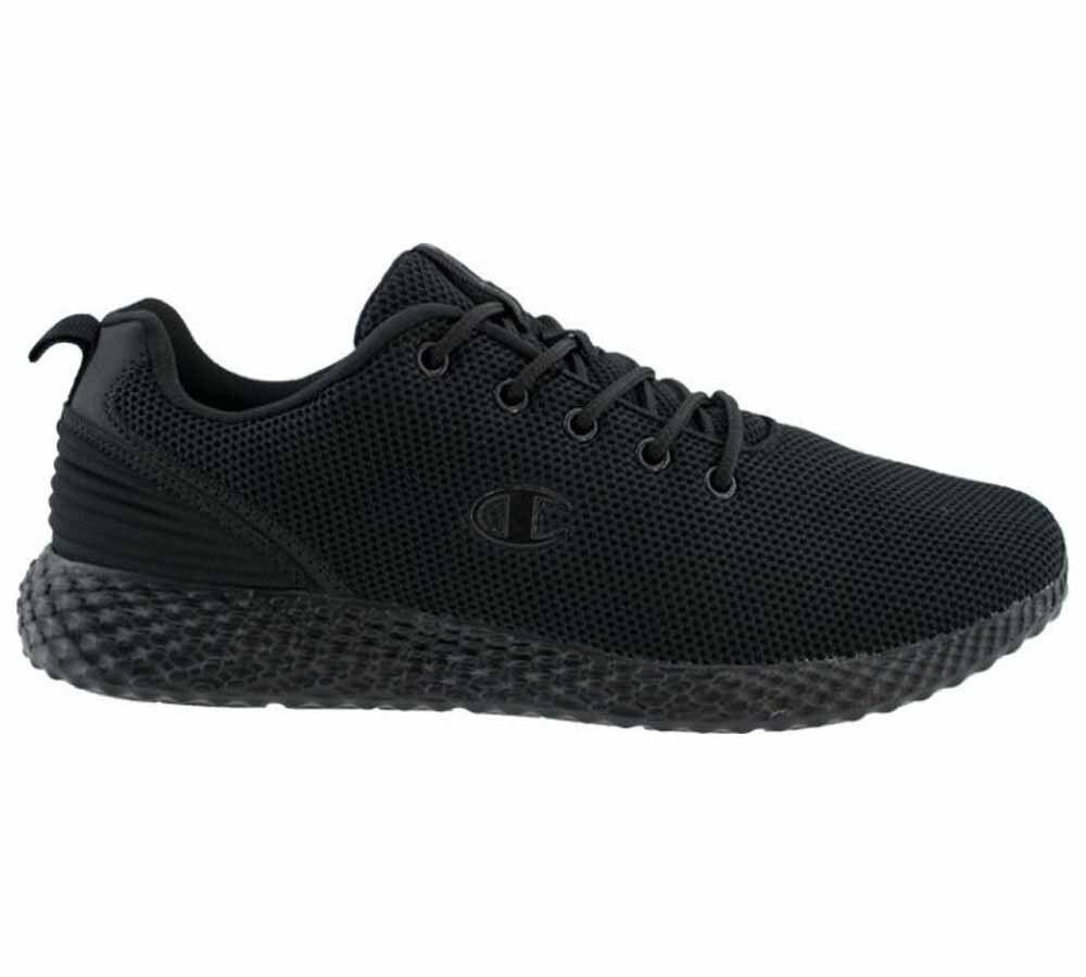 Champion Sneakers Scarpe Uomo Sprint Winterized, Taglia: 42, Per adulto Uomo, Nero, S21114-KK001
