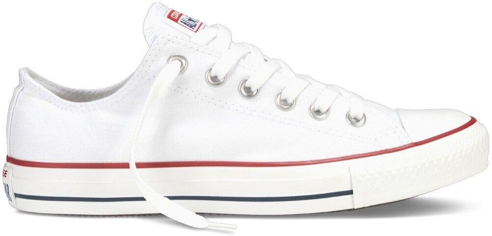 Converse Sneakers Scarpe CT All Star Basse, Taglia: 44,5, Unisex, Bianco, M7652C, IN SALDO!