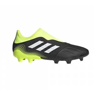 Adidas Scarpe Calcio Copa Sense.3 Laceless Firm Ground, Taglia: 44 2/3, Unisex, Nero, FW7270, IN SALDO!