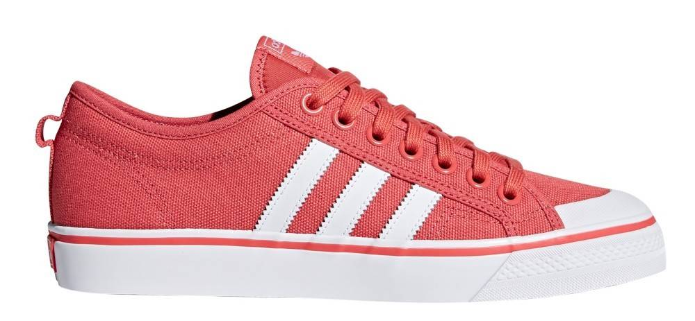 Adidas Sneakers Scarpa Nizza, Taglia: 38, Unisex, Rosso, CQ2331, IN SALDO!