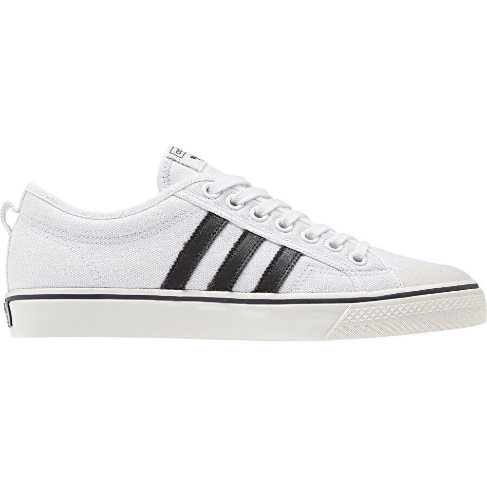 Adidas Sneakers Scarpa Nizza, Taglia: 42, Unisex, Bianco, CQ2333