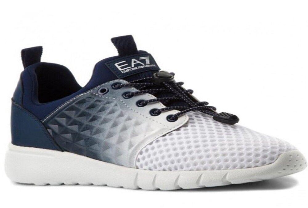 Ea7 Sneakers Scarpe Uomo Active, Taglia: 9,5, Per adulto Uomo, Blu, 8P299-248051-0373