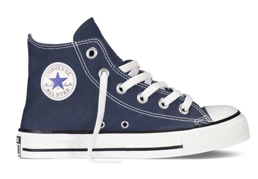 Converse Sneakers Scarpe Bambino All Star HI Canvas, Taglia: 34, Per Bambino/a, Blu, 3J233C-410, IN SALDO!